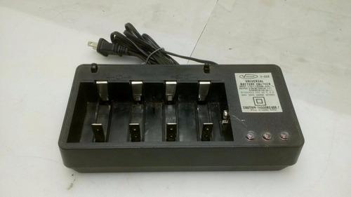 carregador de bateria vanson v 668 p/ 4 baterias