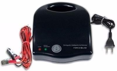 carregador de bateria veicular 12v force line até 70 ah