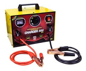 Carregador De Baterias 50a 12v C/ Auxiliar Charger500box V8