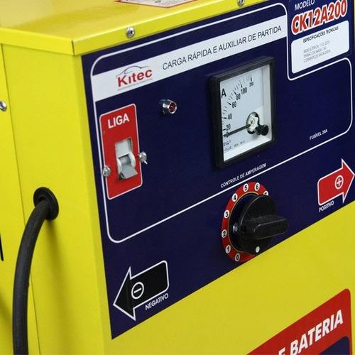 carregador de baterias de 12 v com auxiliar de partida de 20