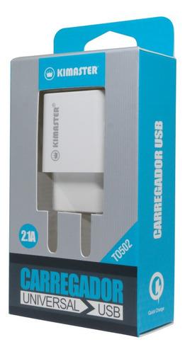 carregador de parede universal to502 2.1a