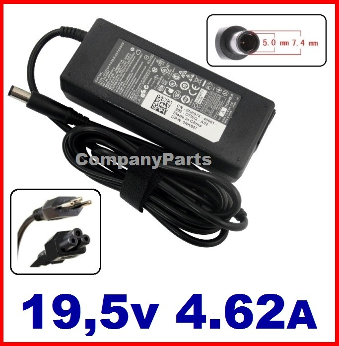 Original 90W 19.5v 4.62A Adapter for Dell Latitude E6410,E6410 ATG,E6420