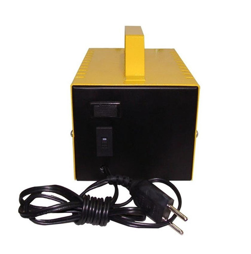 carregador digital stroke 10ah 12v inteligente flutuante som