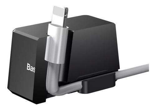 carregador dock station lightning baseus iphone 5 6 7 8 x