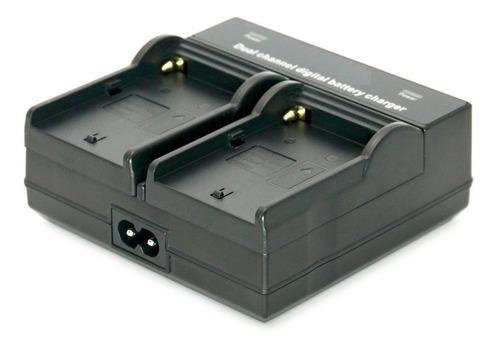 carregador duplo bateria sony   np-f970/f550/f770/f950