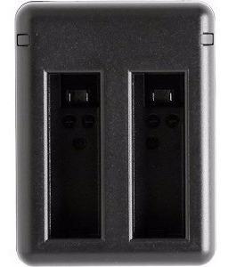 carregador duplo de bateria para gopro hero 7 - 6 - 5 black