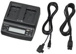 carregador duplo de bateria sony np-fm55h