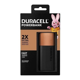Carregador Duracell Portátil Powerbank P/ Celular 6700mah