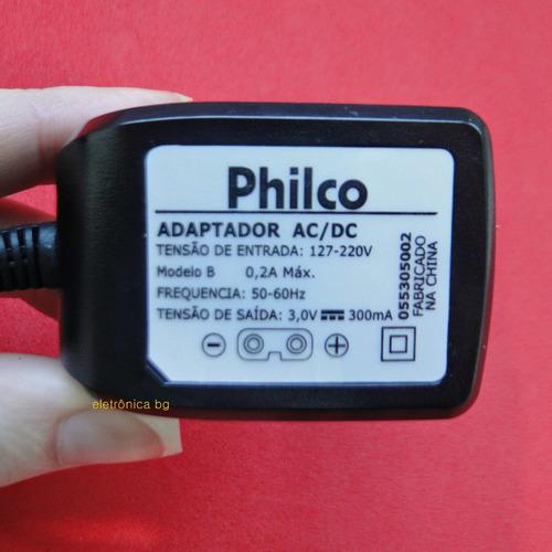 carregador fonte aparador de pelos philco multi groom 7 em 1