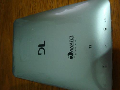 carregador fonte para tablet - dl smart t7  - frete gratis!!