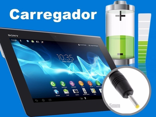 carregador fonte tablet dl hd7 style kids 5v 2a oferta