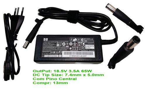 carregador laptop hp pavilion g4 g42 g6 g60 dv4 dm4 co1522