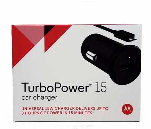 carregador motorola tveicular turbo 15w original+nota fiscal