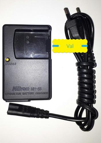 carregador nikon mh-63 en-el10 s510 s520 s570 s60 s80 s200