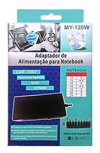 carregador notebook universal fonte acer hp lenovo dell asus