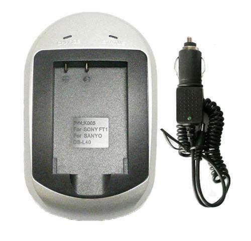 carregador np-ft1 np-fr1 np-bd1 sony cyberhot novo