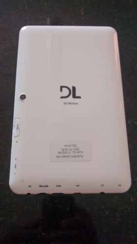 carregador original  dl  p/ tablet dl tg-m73 mobile plus