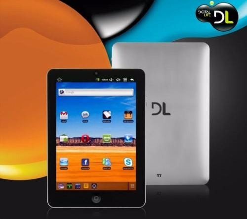 carregador original para tablet - dl smart t7 9v -1.5 a