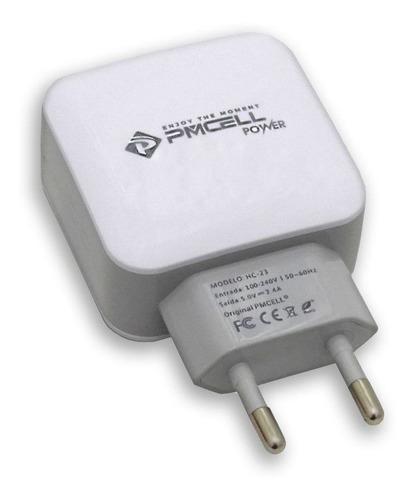 carregador original pmcell para lg x power k220 x style k200