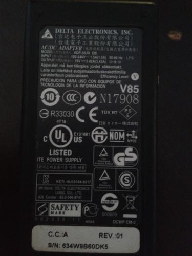 carregador para notebook acer / hp adp-65jh db