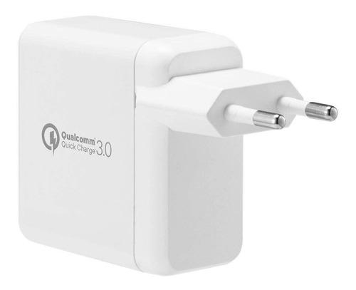 carregador parede dual usb original spigen quick charge 3.0