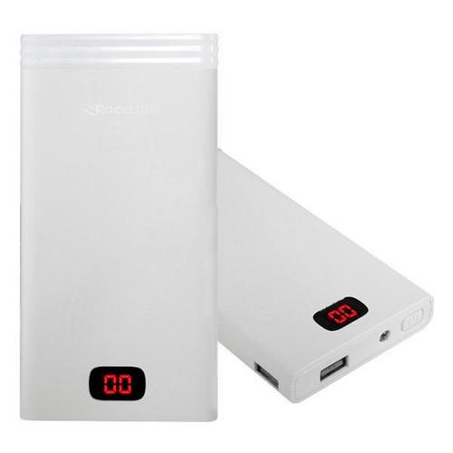 carregador portátil bateria roadstar power bank 10000mah