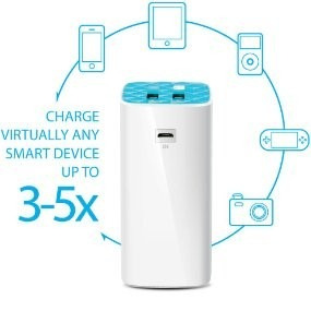 carregador portátil power bank 10400 mah tp-link