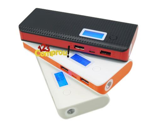 carregador portátil power bank pineng 10000mah usb original