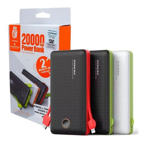 carregador portátil power bank pineng pn-959 20000mah