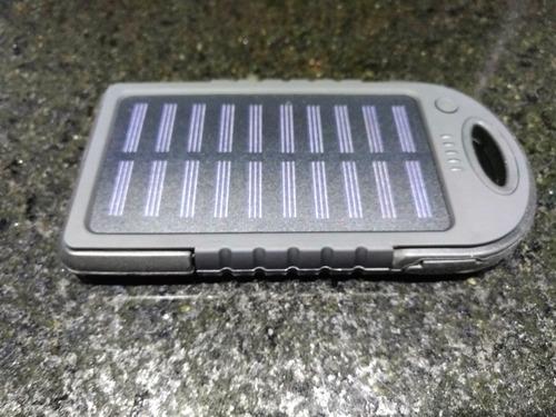 carregador portatil (power bank) solar