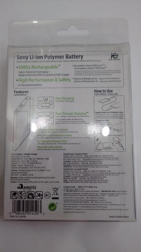carregador portatil sony original modelo cp-f5(n) 5000mah
