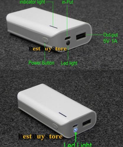 carregador power bank bateria litio samsung, usb universal