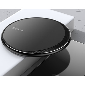 Carregador Sem Fio Indução Compatível Samsung E iPhone