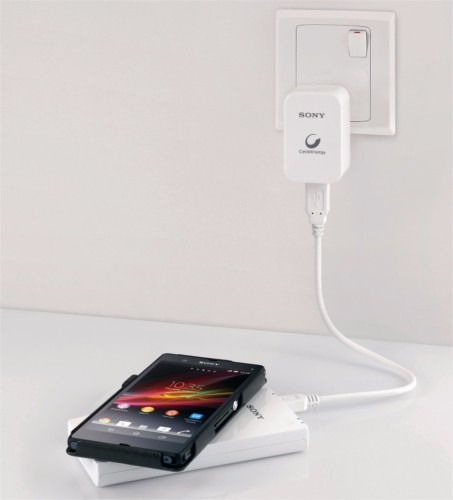 carregador sem fio sony qi 5000 mah iphone lg nokia motorola