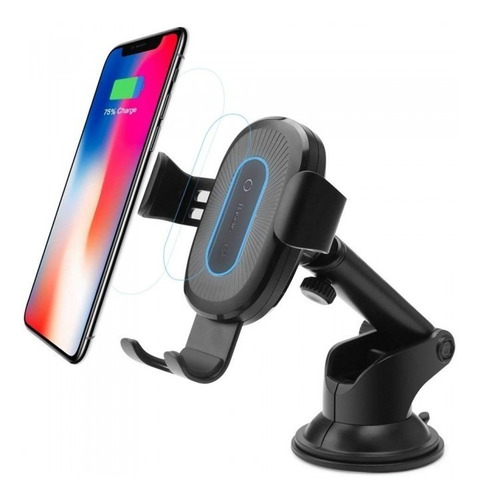 carregador sem fio suporte baseus gravity iphone x s9 note 9