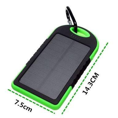 carregador solar portatil