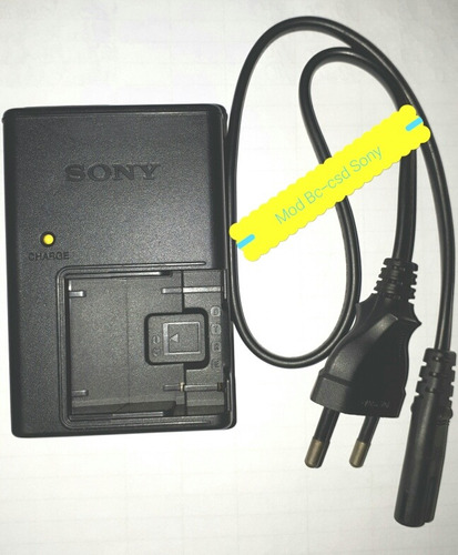 carregador sony bc-csd pra bateria np-fr1 ft1 fe1 fd1 bd1