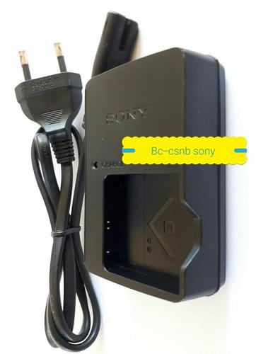 carregador sony bc-csnb pra bateria sony produto original