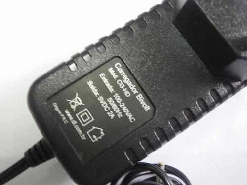 carregador  tablet original dl pino fino hd7