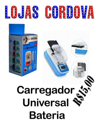 carregador universal bateria