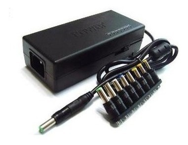 carregador universal notebook fonte laptop multi voltagem nf