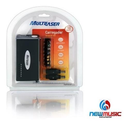 carregador universal para laptop 90w multilaser cb07 #279337