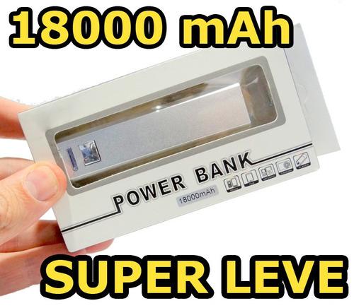 carregador universal portail power bank 1800 mah promoção