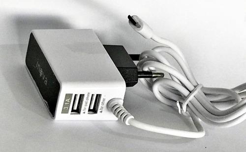 carregador v8 celular tablet inova 5016 carga rápida