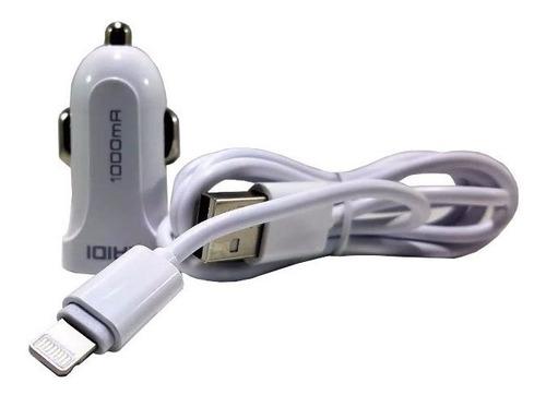 carregador veicular 1000ma kaidi cabo iphone original 5 5s 6