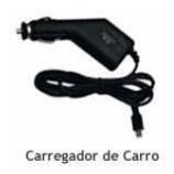 carregador veicular compativel para gps apontador t503