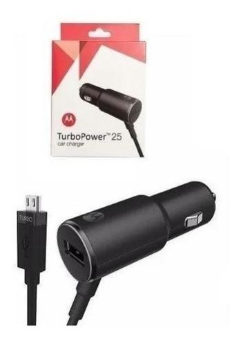 carregador veicular motorola de carro turbo power cabo usb