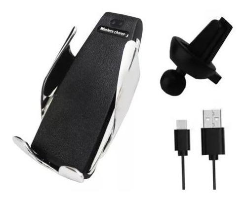 carregador veicular qi smart sensor wireless charger s5 haiz