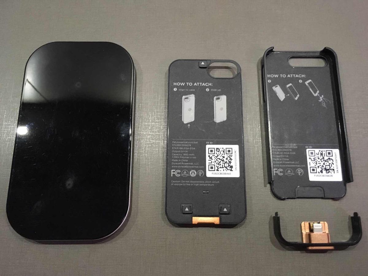 wholesale dealer 8689b 0195d Carregador Wireless Sem Fio Duracell Powermat iPhone 5,5s,se