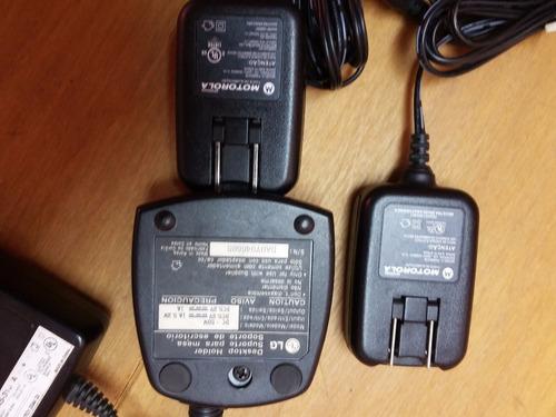 carregadores de celulares antigos lg e motorola
